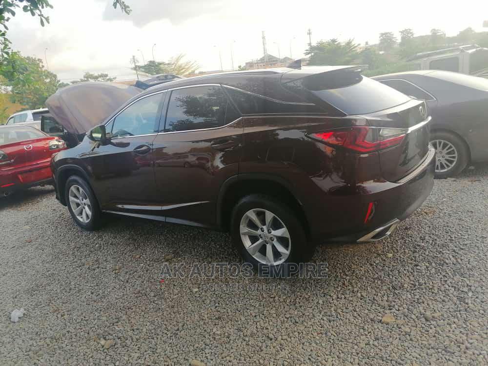 Lexus RX 2017 350 FWD Brown | Cars for sale in Jabi, Abuja (FCT) State, Nigeria
