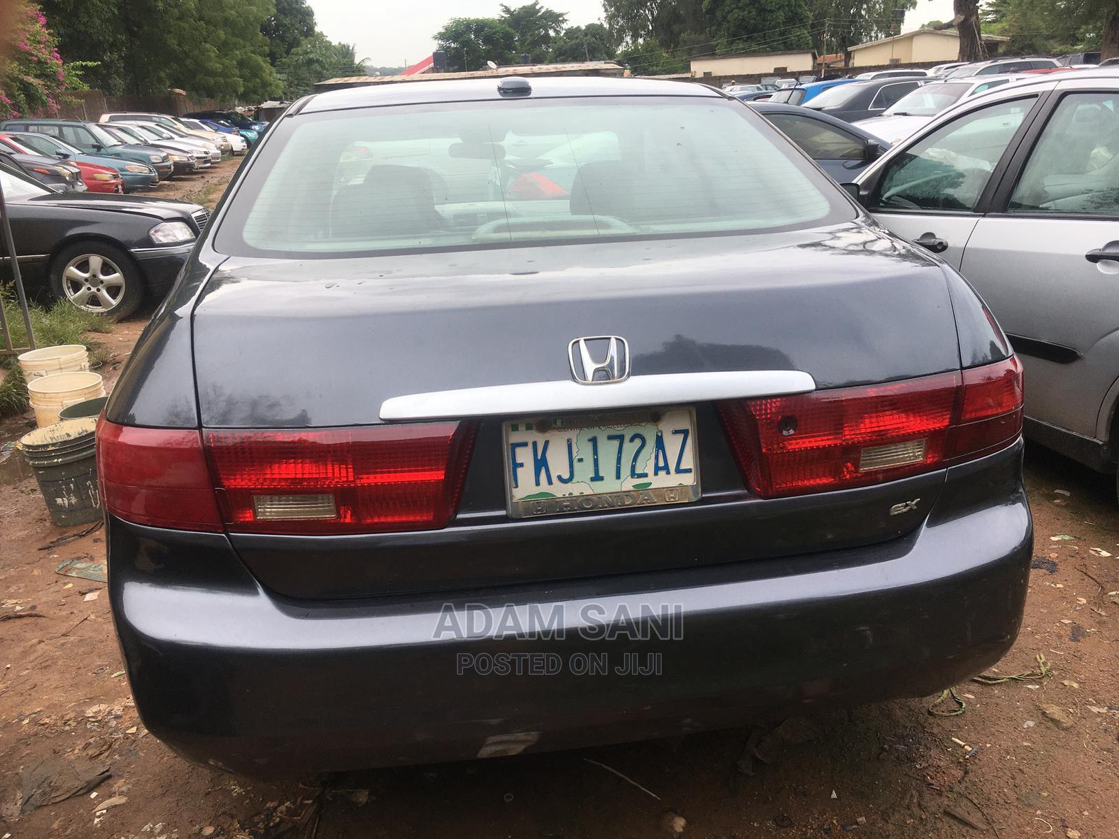 Honda Accord 2005 Black   Cars for sale in Kaduna / Kaduna State, Kaduna State, Nigeria