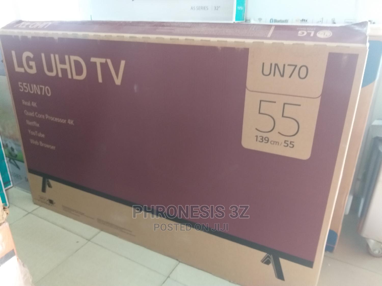 LG 55 Inches Smart Ultra HD TV | TV & DVD Equipment for sale in Kubwa, Abuja (FCT) State, Nigeria