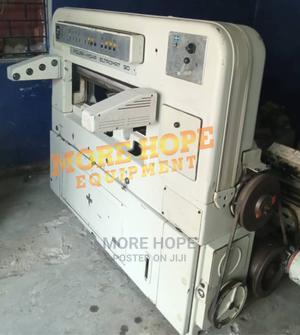 Polar Mohr Paper Cutting Machine | Printing Equipment for sale in Lagos State, Mushin