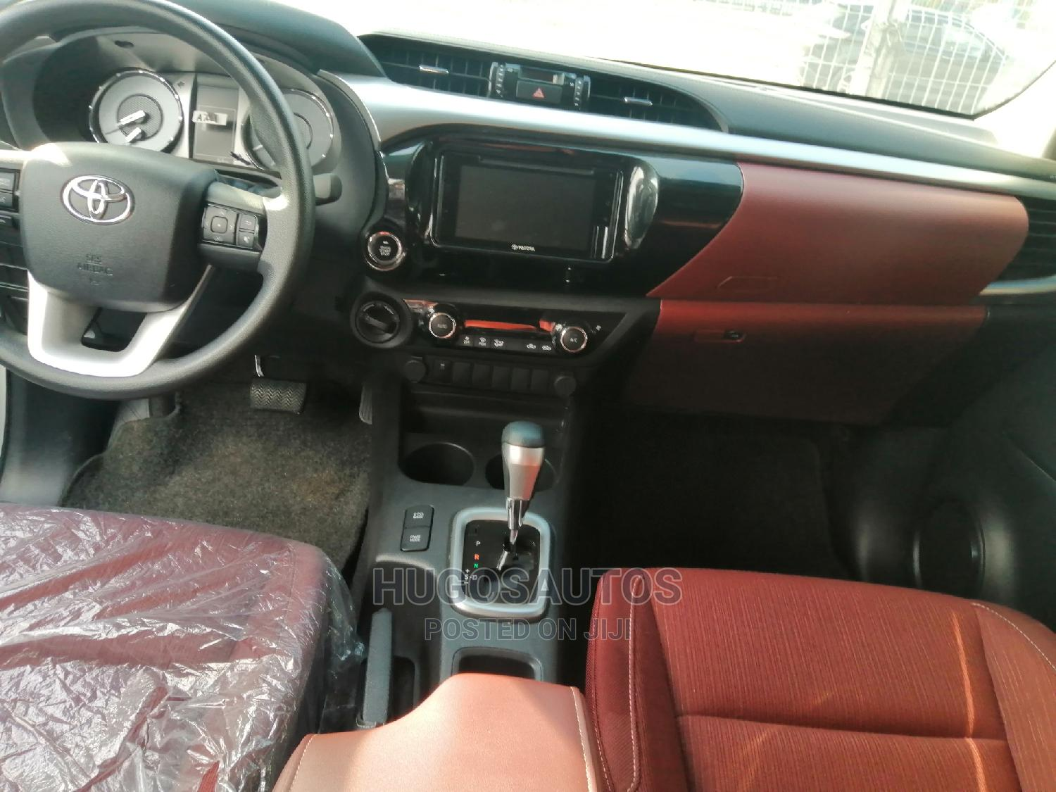 New Toyota Hilux 2020 White   Cars for sale in Port-Harcourt, Rivers State, Nigeria