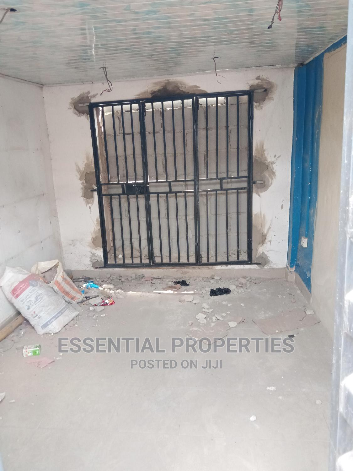 To Let : A Spacious Shop for at Opebi Facing the Main Road