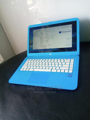 Laptop HP Stream 14 4GB Intel SSD 32GB   Laptops & Computers for sale in Lagos State, Mushin