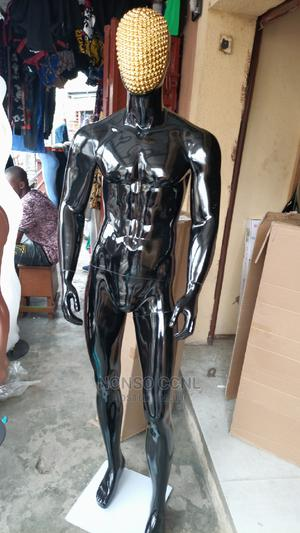 Gold Face and Black Body Fibre Full Body Male Mannequin | Store Equipment for sale in Lagos State, Lagos Island (Eko)