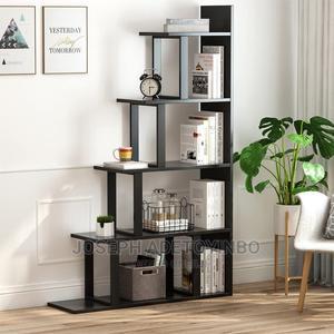 Tribesigns -5 Shelf Ladder Corner Bookshelf | Furniture for sale in Lagos State, Amuwo-Odofin