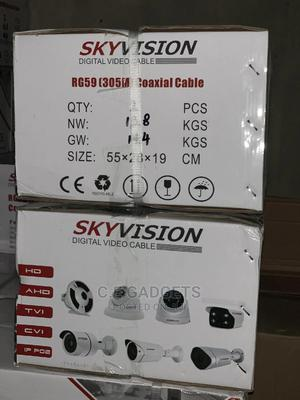 RG59 Video Cable 305metres | Accessories & Supplies for Electronics for sale in Lagos State, Ojo