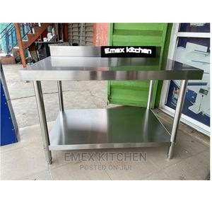 4ft Stainless Steel Working Table | Manufacturing Equipment for sale in Lagos State, Ojo