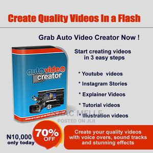 Create Quality Videos in Minutes   Computer & IT Services for sale in Lagos State, Lekki