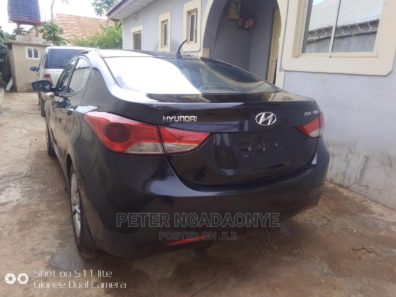 Archive: Hyundai Elantra 2013 Black
