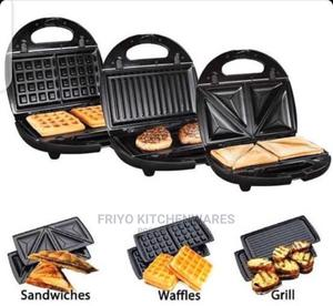 3in1 Waffle Machine | Kitchen Appliances for sale in Abuja (FCT) State, Wuse
