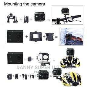 WIFI Waterproof Action Camera 4K Ultra Video Camcorder | Photo & Video Cameras for sale in Abia State, Aba North