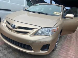 Toyota Corolla 2012 Gold | Cars for sale in Lagos State, Amuwo-Odofin