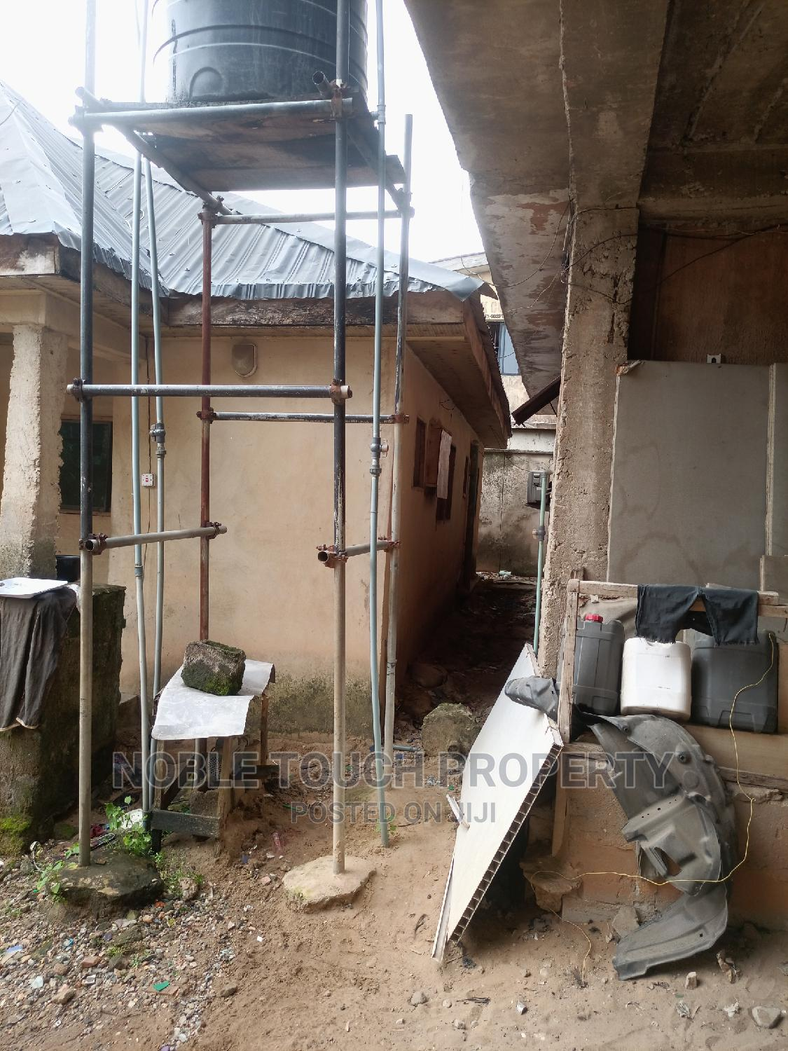 10commercial Shops With 3bedroom Behind on Tarred Road   Commercial Property For Sale for sale in Alaba, Ojo, Nigeria