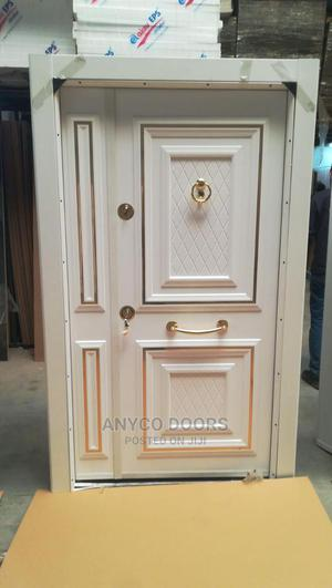 4ft Entrance White Turkish Double Door   Doors for sale in Lagos State, Victoria Island