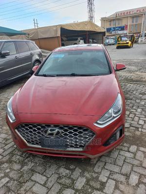 Hyundai Sonata 2018 Red | Cars for sale in Lagos State, Lekki