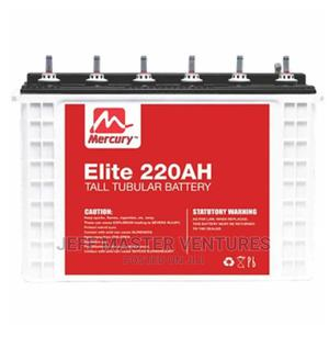 Mercury 220AH 12V Tubular Battery | Electrical Equipment for sale in Lagos State, Ojo