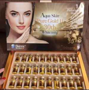 Aqua Skin Pure Gold 2 (30th Whitening) 30 Vials / Box   Vitamins & Supplements for sale in Lagos State, Amuwo-Odofin