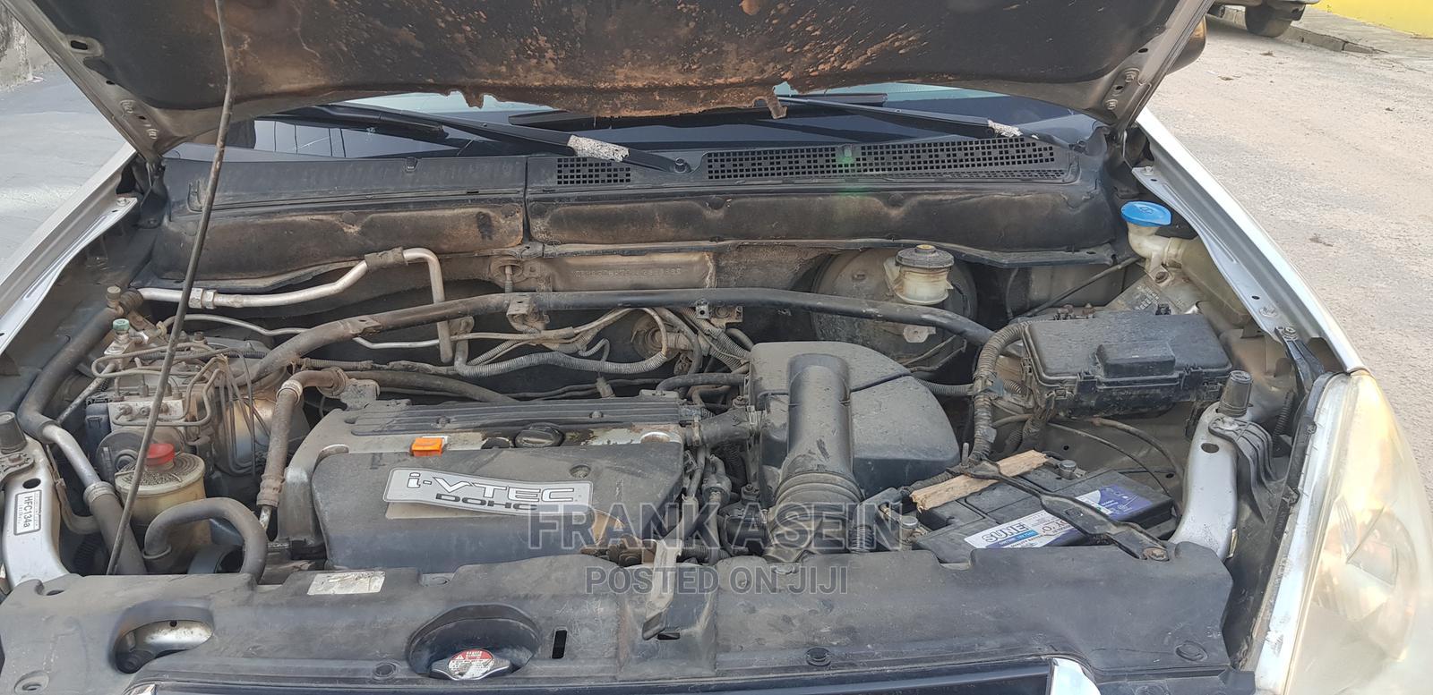 Archive: Honda CR-V 2004 Silver
