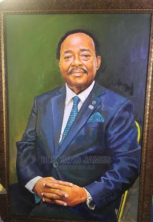 Portrait Painting, Oil on Canvas   Arts & Crafts for sale in Lagos State, Gbagada