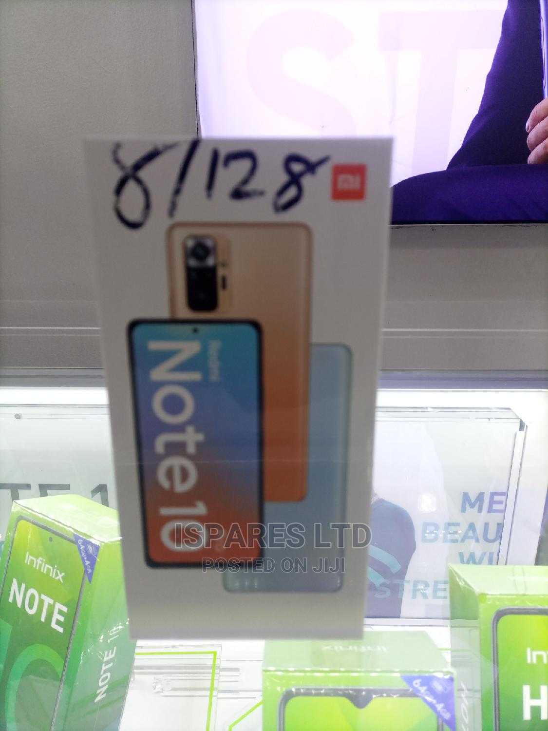 New Xiaomi Redmi Note 10 Pro 128 GB Blue | Mobile Phones for sale in Port-Harcourt, Rivers State, Nigeria