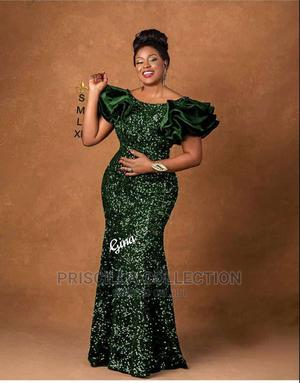 Quality Long Turkey Sequence Gown for Women   Clothing for sale in Abuja (FCT) State, Bwari