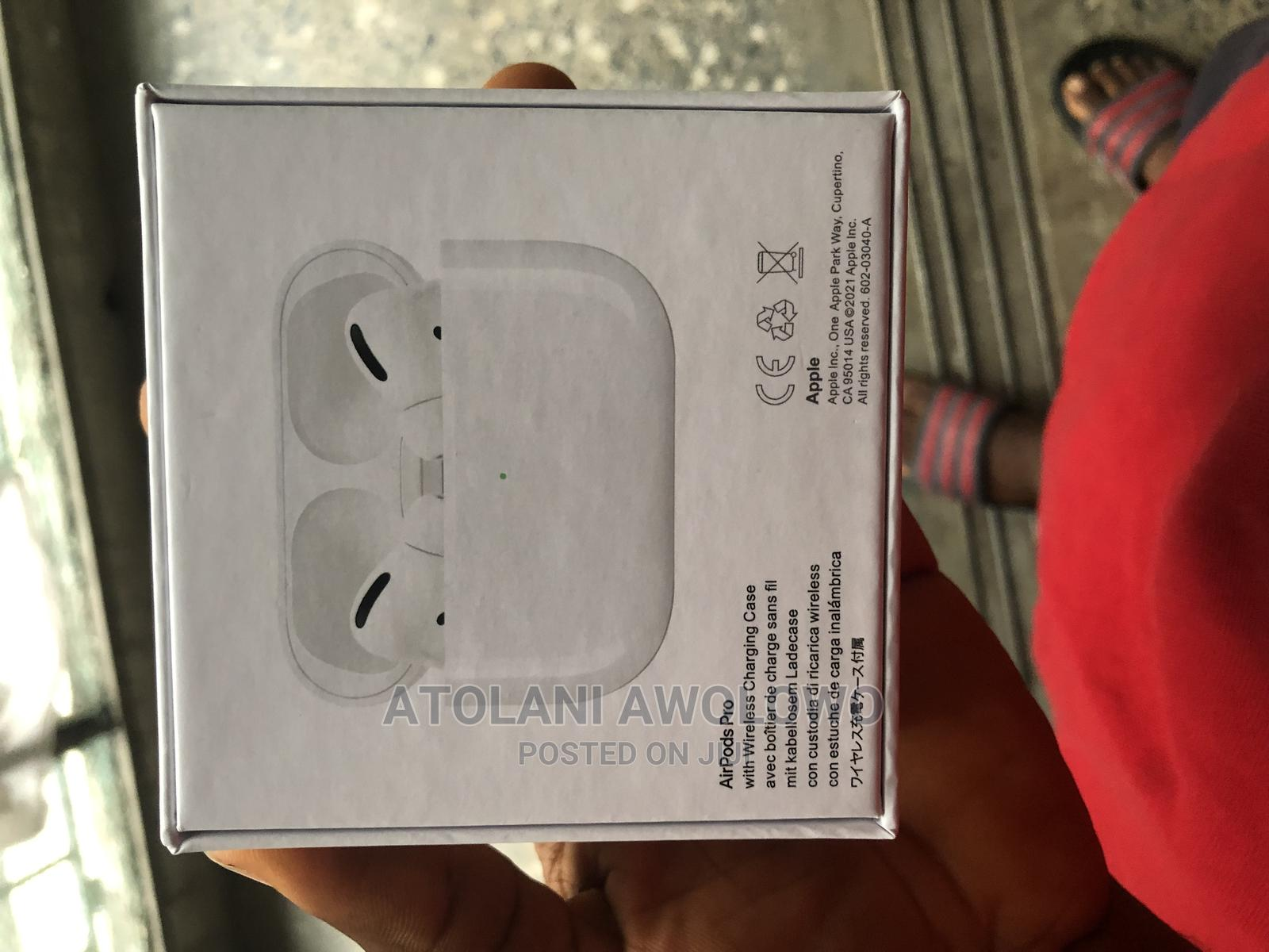 Apple Airpod Pro   Headphones for sale in Shomolu, Lagos State, Nigeria