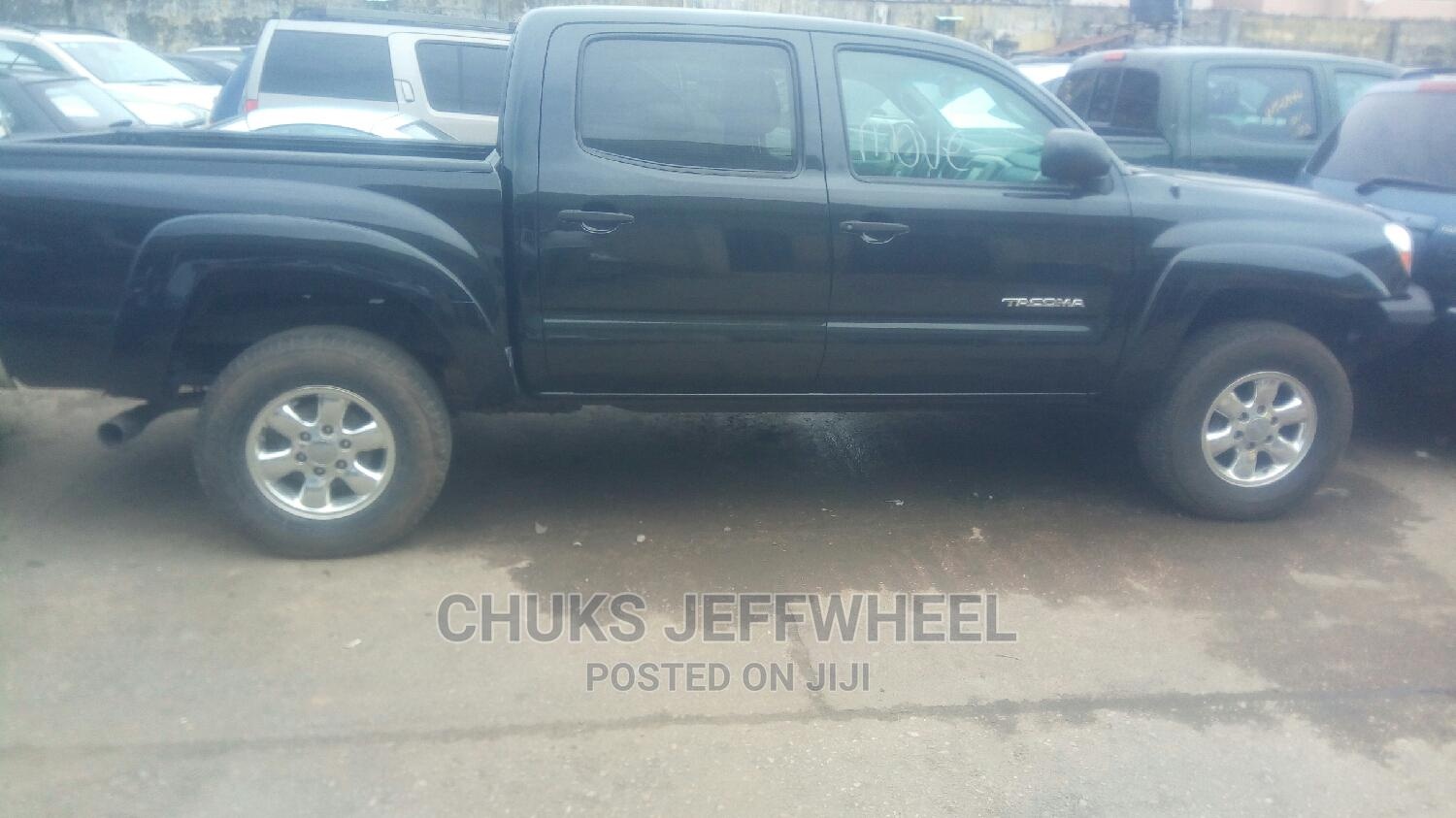 Toyota Tacoma 2007 Black | Cars for sale in Isolo, Lagos State, Nigeria