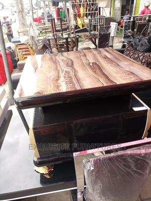 Marble Center Table/Side Stool | Furniture for sale in Rivers State, Port-Harcourt
