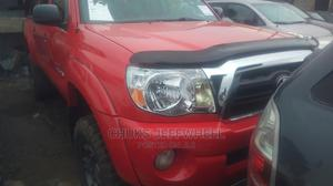 Toyota Tacoma 2008 4x4 Double Cab Red | Cars for sale in Lagos State, Isolo