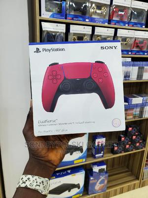 Playstation Dualsense Wireless Controller – Cosmic Red | Video Game Consoles for sale in Lagos State, Ikeja