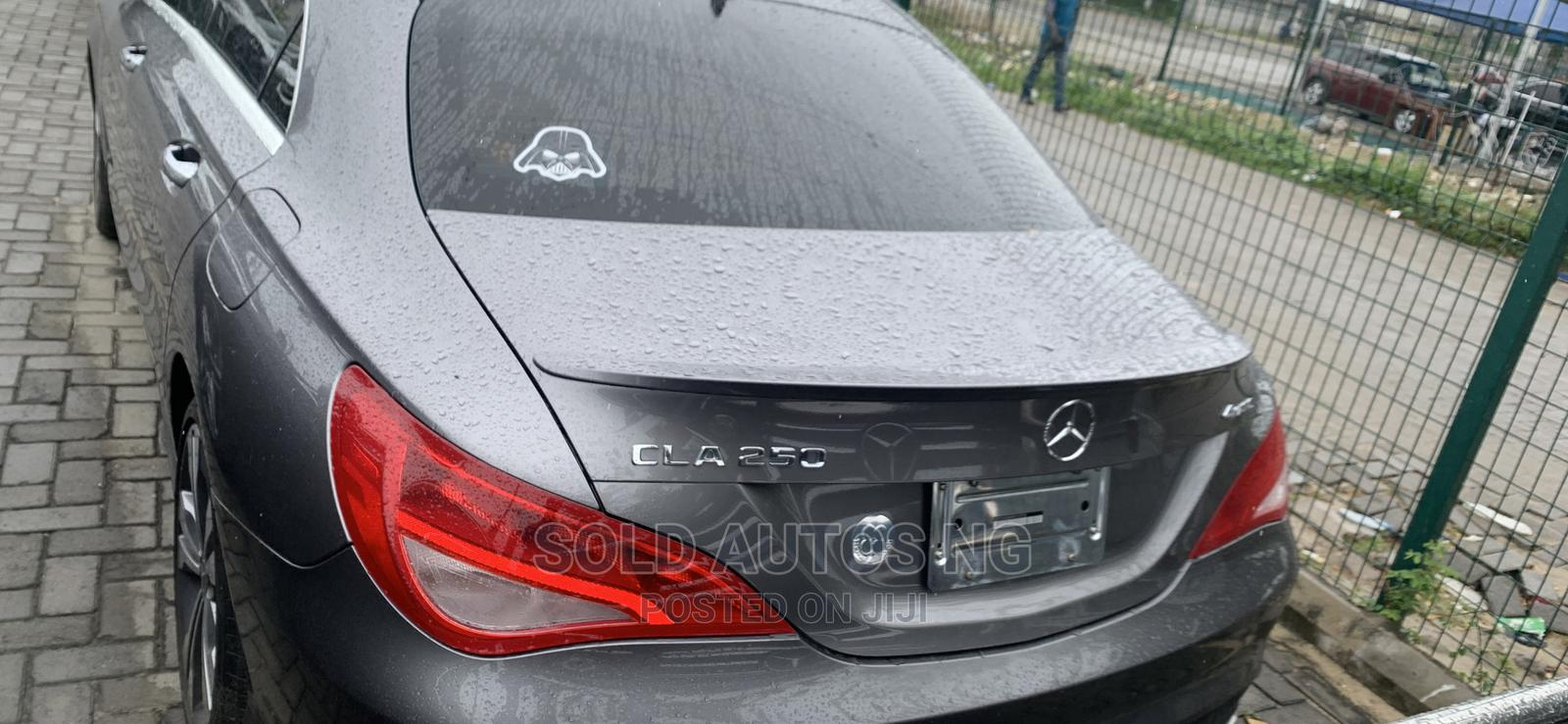 Archive: Mercedes-Benz CLA-Class 2019 Gray