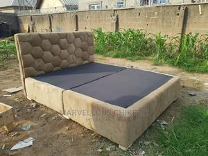 Upholstery Bed 6 by 6 | Furniture for sale in Abuja (FCT) State, Dei-Dei