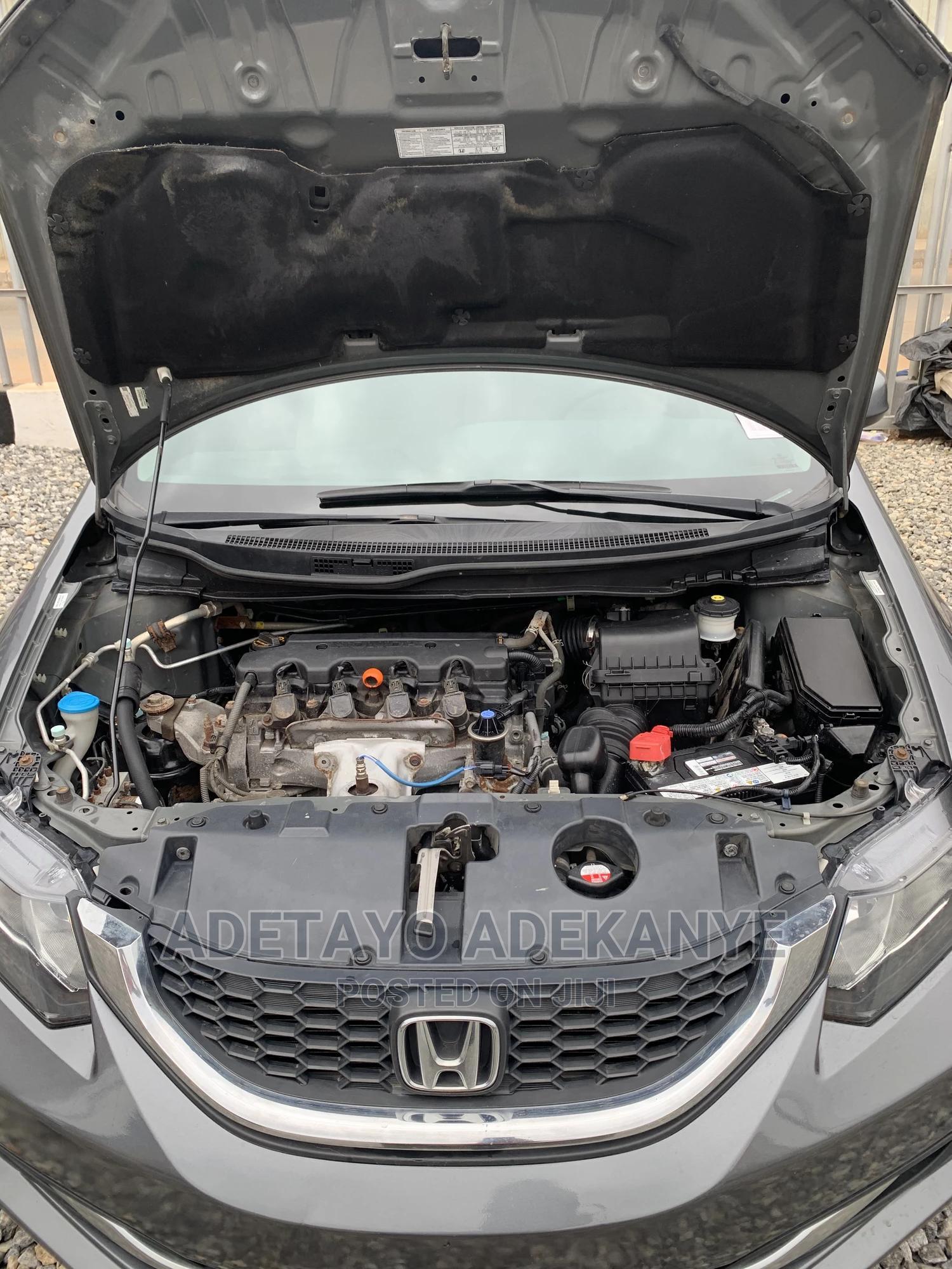 Honda Civic 2013 Gray | Cars for sale in Abule Egba, Lagos State, Nigeria