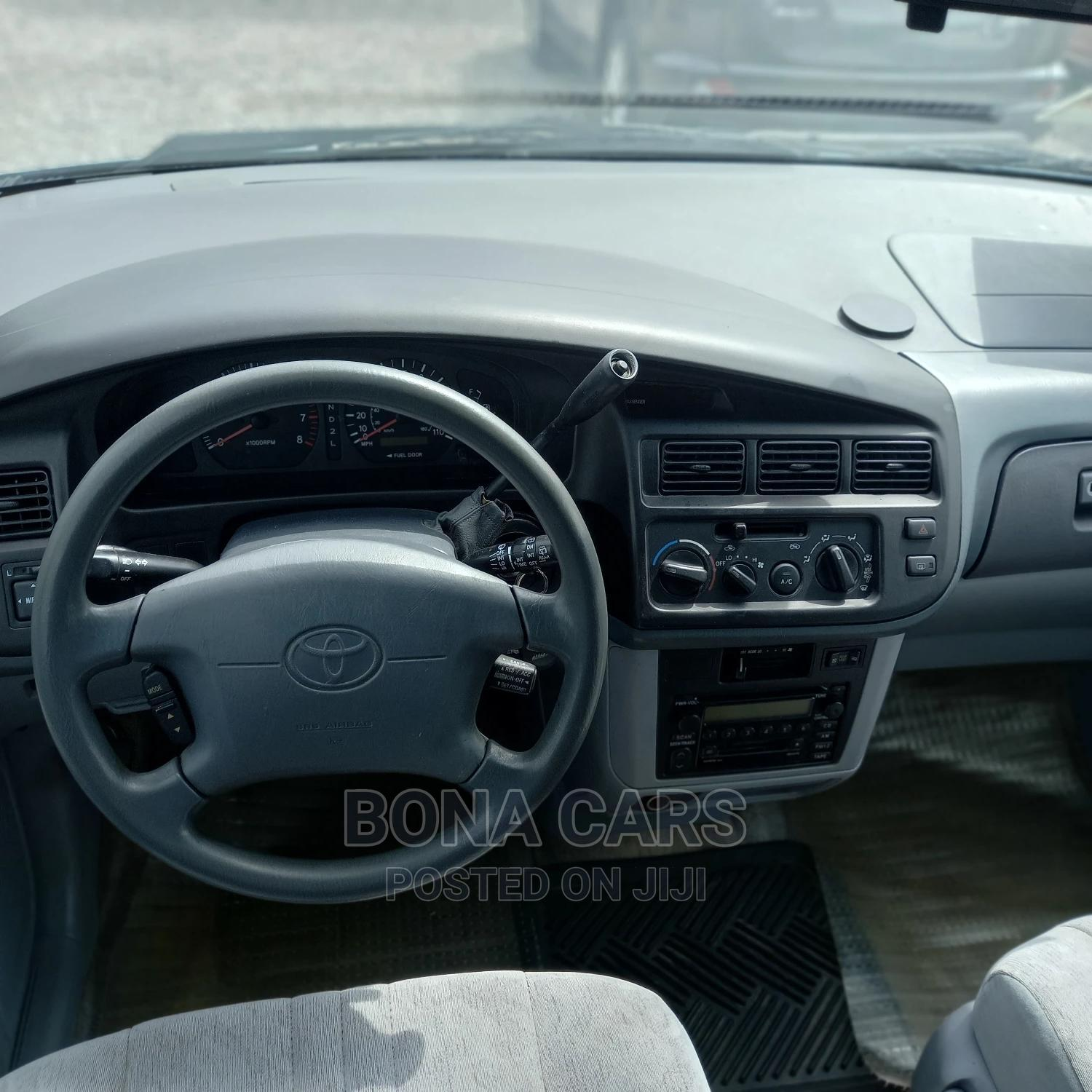 Archive: Toyota Sienna 2000 LE & 1 Hatch Blue