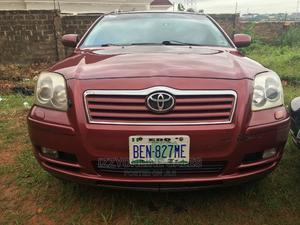 Toyota Avensis 2006 2.4 VVT-i Executive Red   Cars for sale in Edo State, Benin City