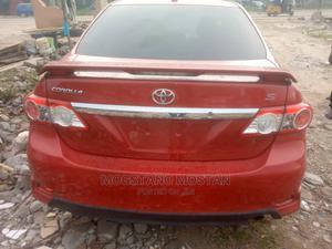 Toyota Corolla 2013 Red   Cars for sale in Lagos State, Amuwo-Odofin