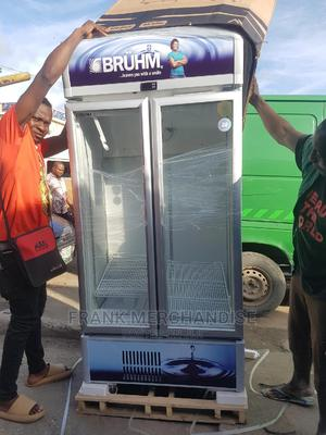 Showcases BRUHM Glass Douben Door 100%Copper 2years Warranty | Store Equipment for sale in Lagos State, Victoria Island