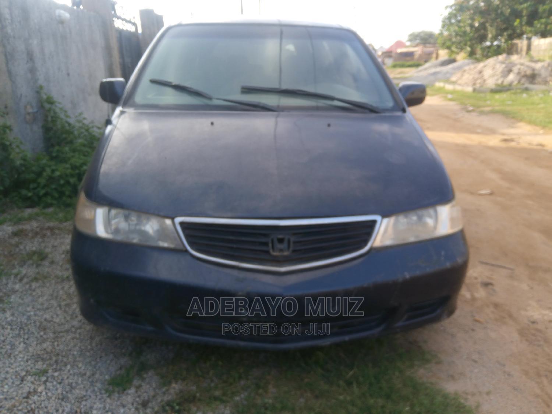 Archive: Honda Odyssey 2003 EX Blue