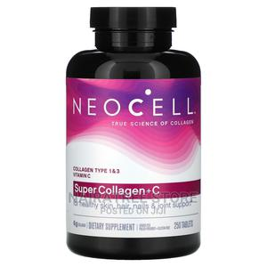 Neocell Super Collagen+C Type 1 and 3, 6000mg Plus Vitamin C | Feeds, Supplements & Seeds for sale in Lagos State, Lekki