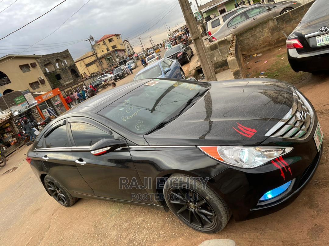 Hyundai Sonata 2010 Black | Cars for sale in Ikeja, Lagos State, Nigeria