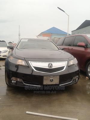 Acura TL 2012 SH-AWD Automatic Black   Cars for sale in Lagos State, Victoria Island