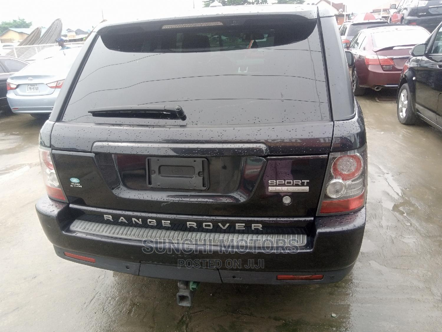 Land Rover Range Rover Sport 2010 HSE 4x4 (5.0L 8cyl 6A) Black | Cars for sale in Victoria Island, Lagos State, Nigeria