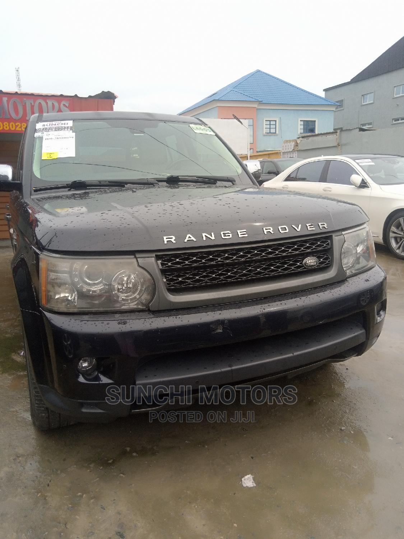 Land Rover Range Rover Sport 2010 HSE 4x4 (5.0L 8cyl 6A) Black