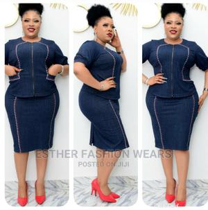 Quality Turkey Female Denim Skirt and Blouse Available Sizes | Clothing for sale in Lagos State, Ikeja