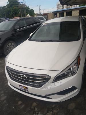 Hyundai Sonata 2015 White | Cars for sale in Lagos State, Ajah