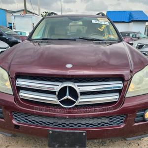 Mercedes-Benz GL Class 2007 GL 450 Red | Cars for sale in Lagos State, Ikeja