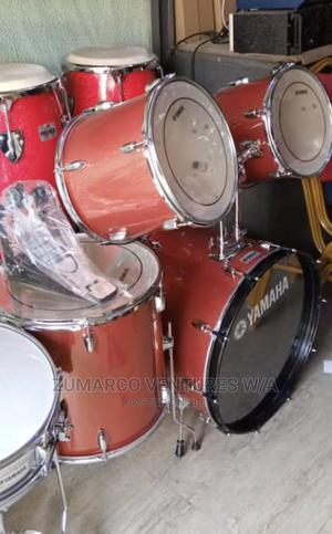 Yamaha 7 Pieces Drum Set | Musical Instruments & Gear for sale in Lagos State, Ojo