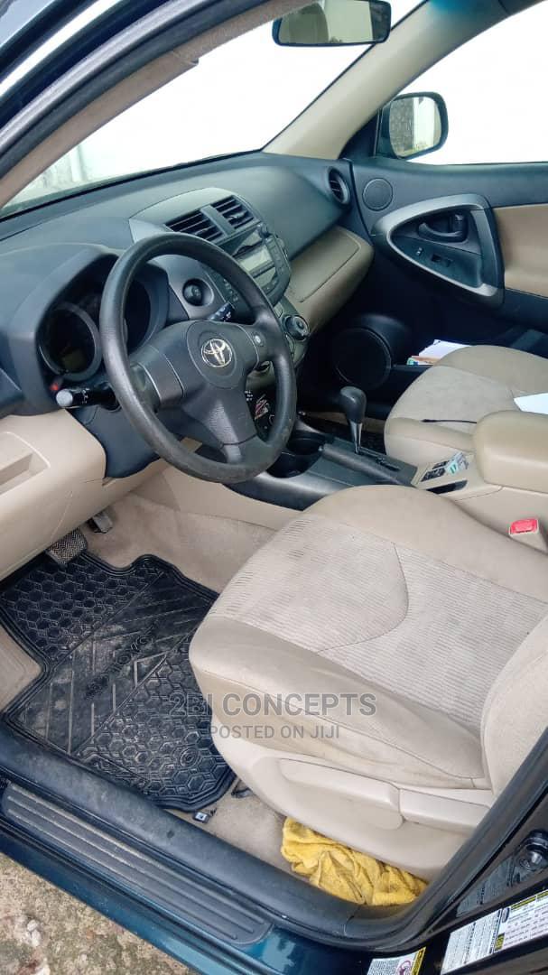 Toyota RAV4 2012 2.5 4x4 Blue | Cars for sale in Ikeja, Lagos State, Nigeria
