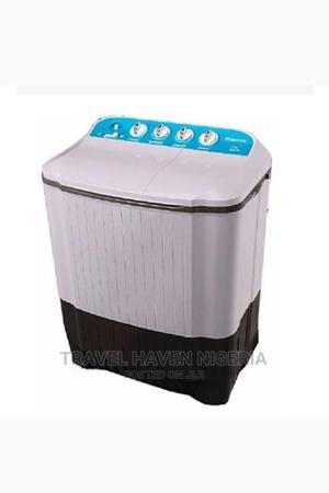 Hisense 10KG Twin Tub Washing Machine WSKA101   Home Appliances for sale in Abuja (FCT) State, Galadimawa