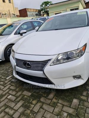 Lexus ES 2013 350 FWD White   Cars for sale in Lagos State, Ilupeju